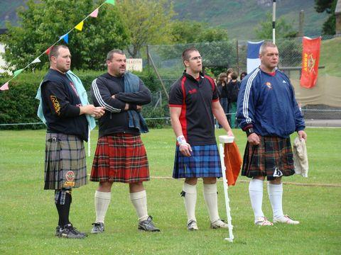 borci ze skotské Vysočiny