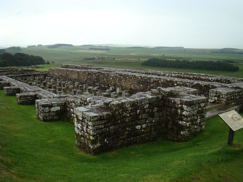 zbytky římské pevnosti 1