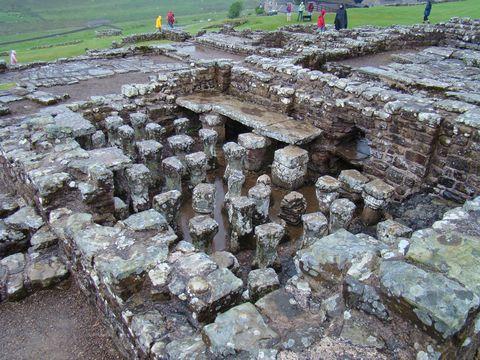 zbytky římské pevnosti 2
