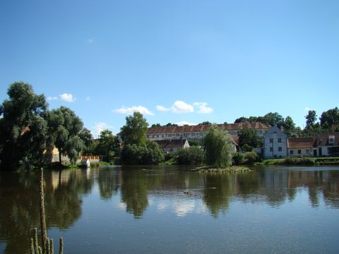 návesní rybník v Uherčicích