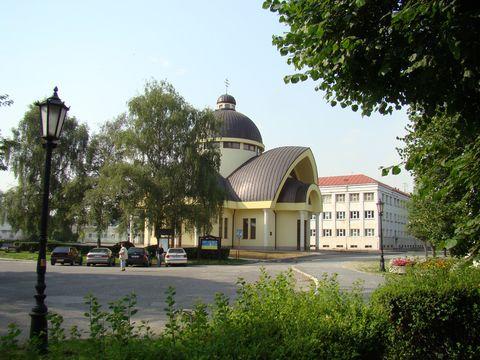 nový pravoslavný kostel v Kezmaroku