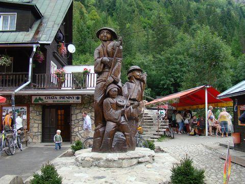 chata Pieniny v Lesnici