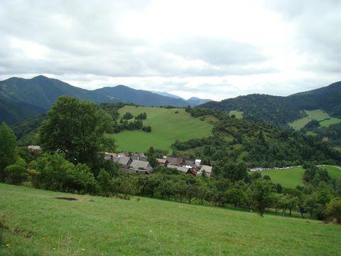 okolí obce Vlkolínec