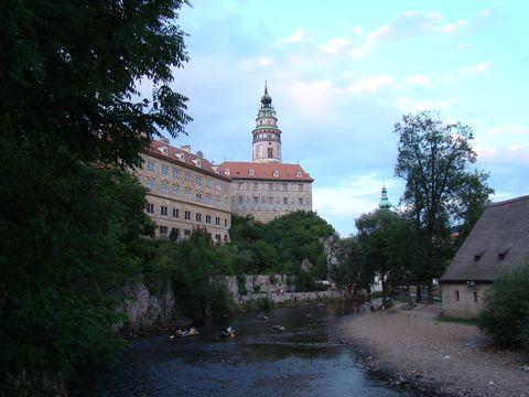 zámek nad Vltavou