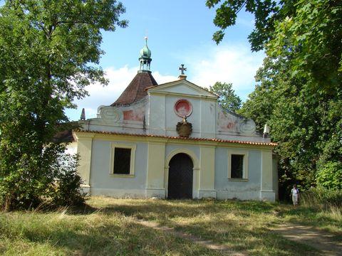 kaple na Křízovém vrchu
