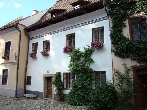 dům, kam jezdil za matkou Egon Schiele