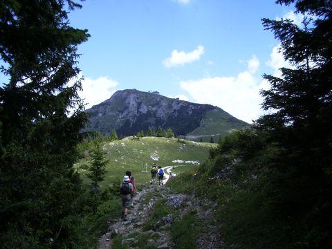 vrcholek Schafbergu