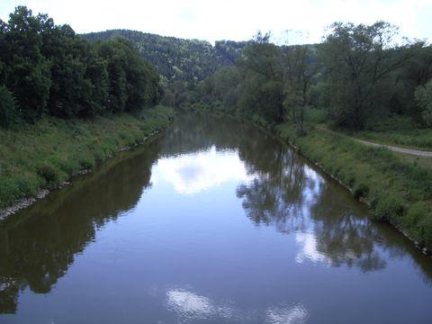 romantická řeka Sázava