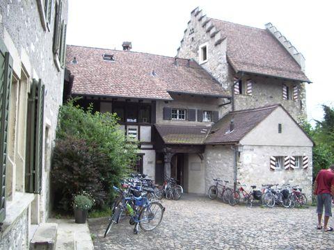 nádvoří hrádku Alten Schlossli