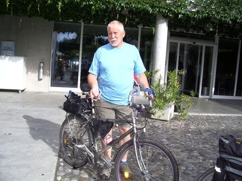 vedoucí a zároveň lékař naąí cyklovýpravy