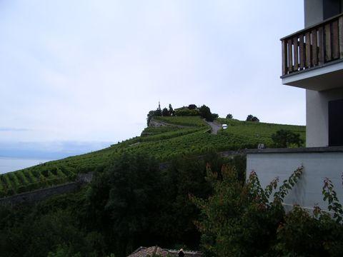 vinařská vesnice nad jezerem
