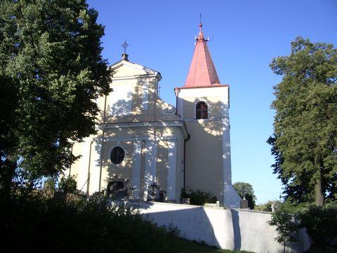 kostel v Uhelné Příbrami