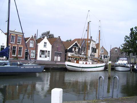 prístav na ostrově Oostflakee