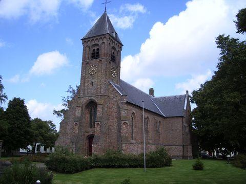 kostel v Noordgouwe