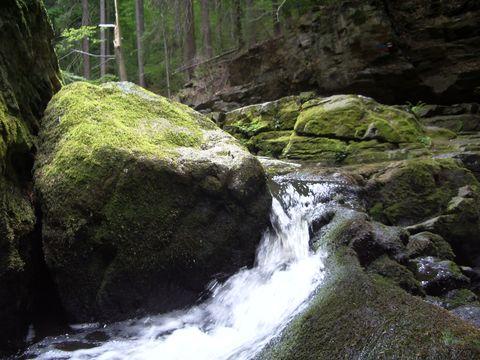 voda hledá cestu