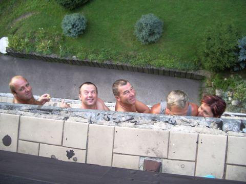 na balkóně