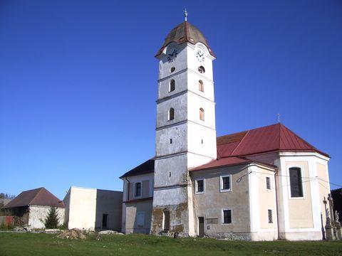 kostel sv.Michaela v Zeletavě