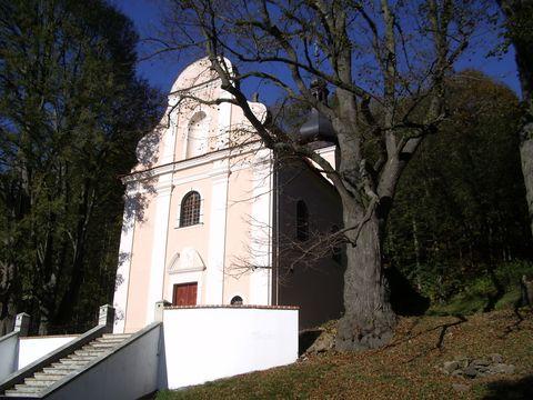 poutní kaple u Brázdova mlýna