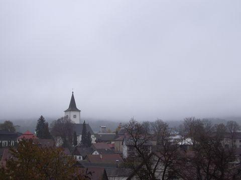 mlha ve Velké Losenici