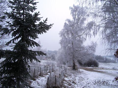 nad Zbornou přiąla zima