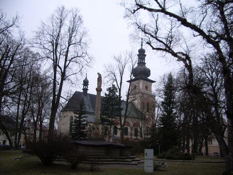 kostel sv.Kunhuty v Novém Městě na Moravě