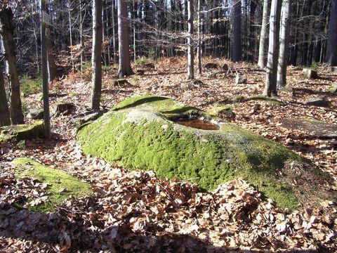 skalní mísy I