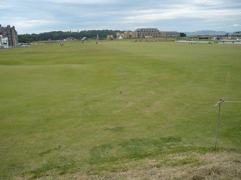 golfové hřistě v St.Andrews