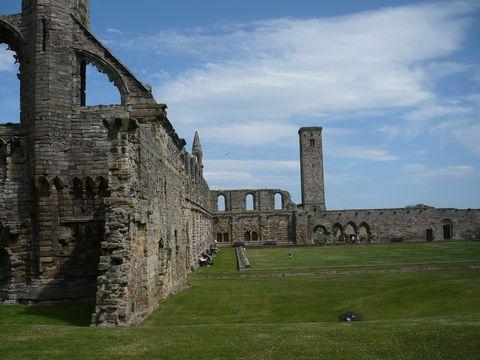 zbytky katedrály v St.Andrews 3