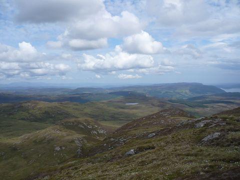 pohled na skotskou Vysočinu 2