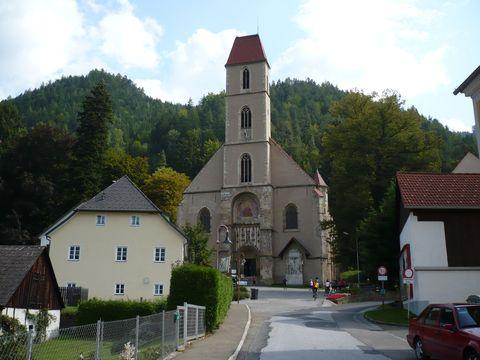 kostel v Perneggu an de Mur