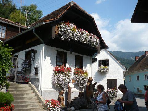 blízko obce Mixnitz je vchod do Medvědí soutěsky