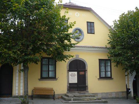 rodný dům KHB v Borové