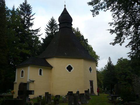 kaple sv. Maří Magdaleny na Bradle u Kamenice n/L