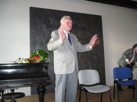 Zdeněk Mahler vzdycky zaujme své posluchače