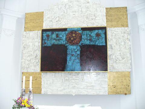 oltářní obraz od Jana Koblasy