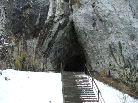 vchod do Kateřinské jeskyně