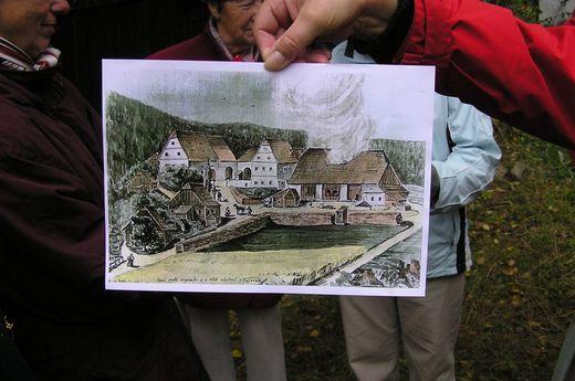 obrázek Bouchnerovy sklárny