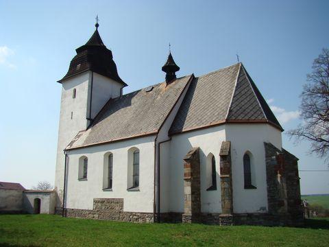 kostel v Číhosti