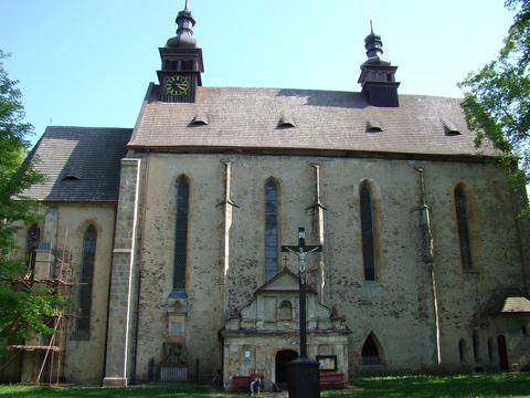 kostel sv. Ondřeje v Pohledu