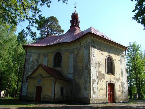 kaple sv. Anny v Pohledu