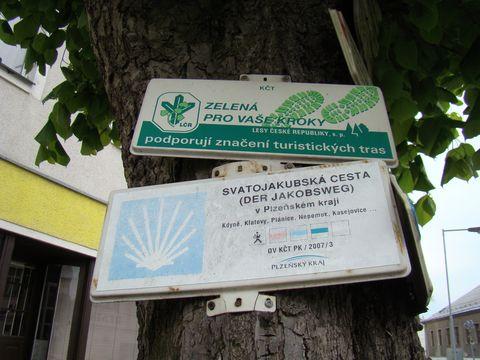 Svatojakubská cesta v Plzeňském kraji