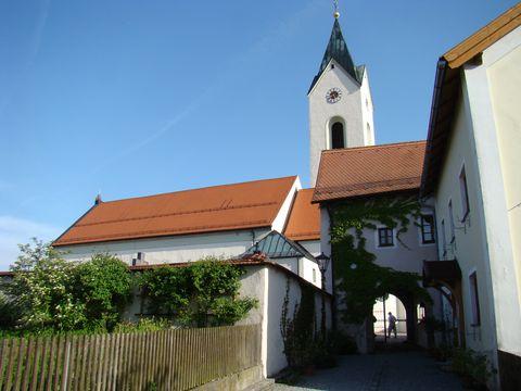 kostel sv. Jakuba v Eschlkamu