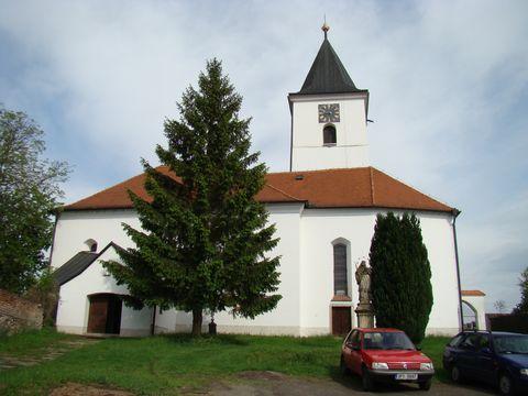 kostel archanděla Michaela ve Vserubech