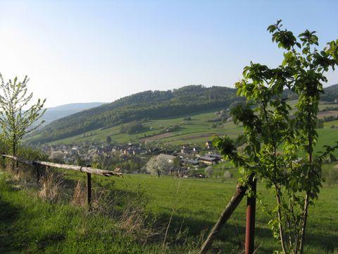 cestou od Kostelíčka ke Zlatníku