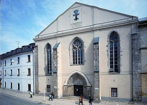 kostel Povýšení sv. Kříže v Jihlavě
