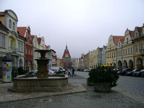 centrum Domažlic
