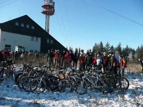 početné družstvo cyklistů
