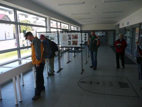 nádherný prostor pro výstavu - vstupní hala sportovního zařízení