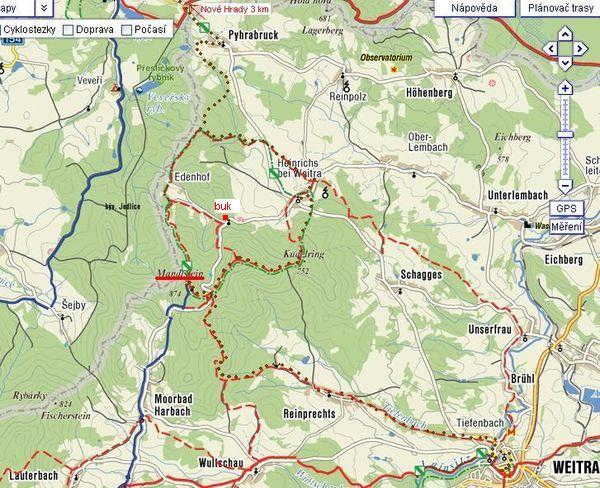 trasa 21.8.2009 - V<br /><br /> itoraz-Nové Hrady