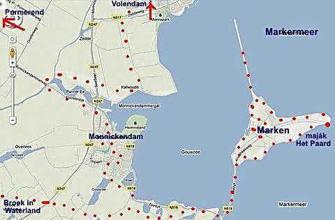 část trasy 30.5.2011 kolem ostrova Marken